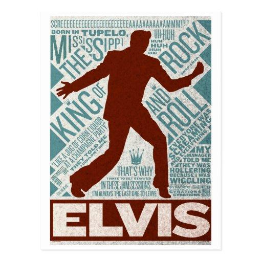 Millón de tipos de Elvis del cuarteto del dólar Tarjeta Postal