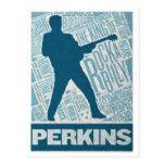 Millón de tipos de Perkins del cuarteto del dólar Postales