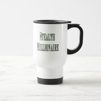 Millonario de la cautela taza de viaje