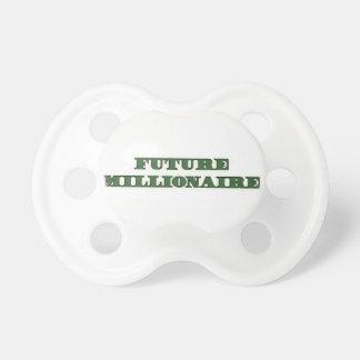 Millonario del futuro del pacificador del bebé chupetes