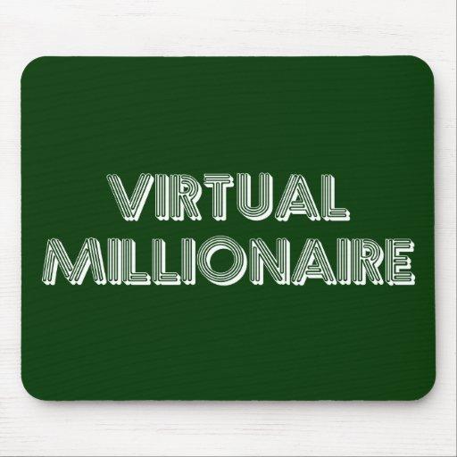 Millonario virtual alfombrillas de ratones