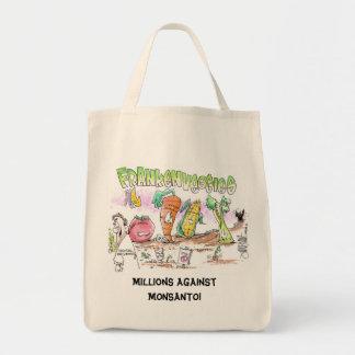 Millones contra el tote del bolso de Monsanto Eco Bolsa Tela Para La Compra