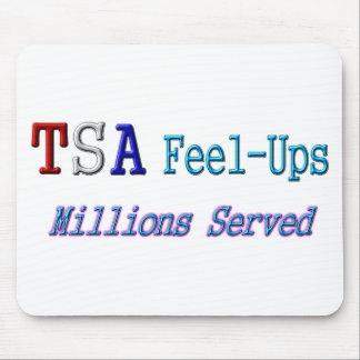 Millones de TSA Sensación-UPS servidos Alfombrilla De Ratón
