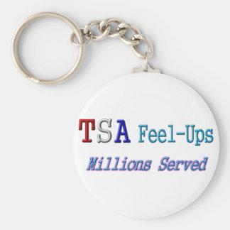 Millones de TSA Sensación-UPS servidos Llavero Redondo Tipo Pin