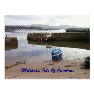Millport, isla de Cumbrae - marea baja Postales