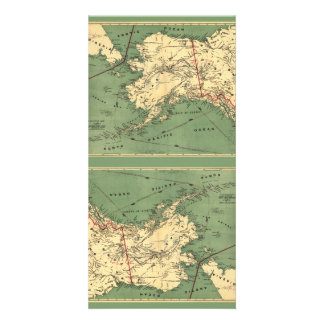 Millroy's map of Alaska and the Klondyke gold Card