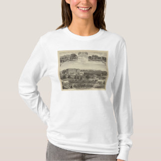 Mills and Residences in Kansas T-Shirt
