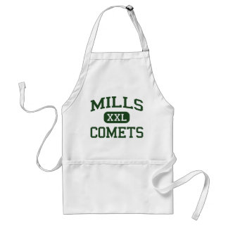 Mills - Comets - High - Little Rock Arkansas Apron