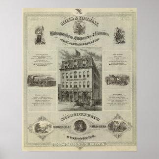 Mills & Company, Des Moines, Iowa Poster