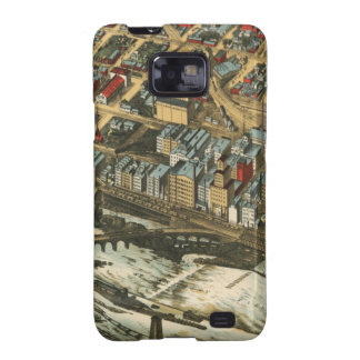 Mills District, Minneapolis 1895 Galaxy S2 Covers