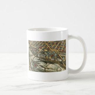 Mills District, Minneapolis 1895 Coffee Mug