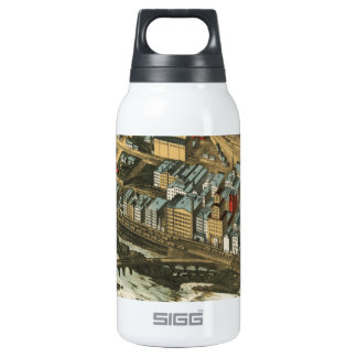 Mills District, Minneapolis 1895 Insulated Water Bottle