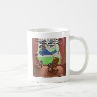 Mills On Whales Funny Coffee Mug