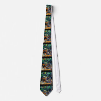 Millstone in the Park by Paul Cezanne colorful art Tie