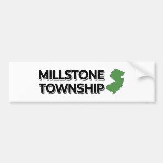 Millstone Township, New Jersey Bumper Sticker