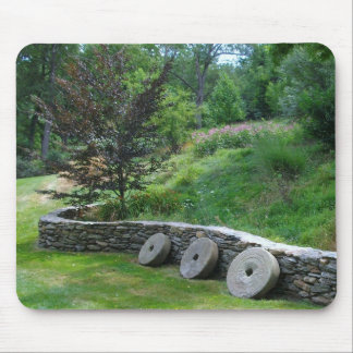 Millstones on the Fence Mouse Pad