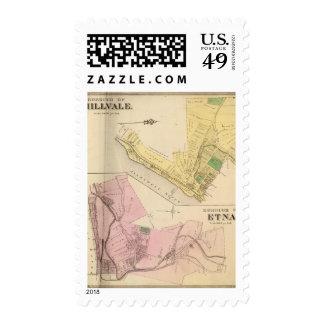 Millvale, Etna Postage