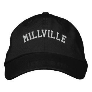 Millville New Jersey Gorro Bordado