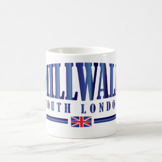 Millwall Londres del sur Taza De Café