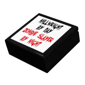 Millwright del asesino del zombi cajas de joyas