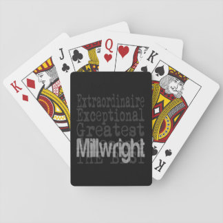 Millwright Extraordinaire Playing Cards