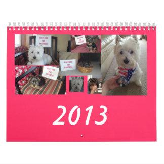 Milly 2013 Calendar