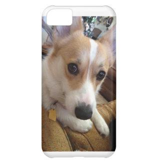 Milly que el corgi dice hola funda para iPhone 5C