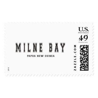 Milne Bay Papua New Guinea Postage