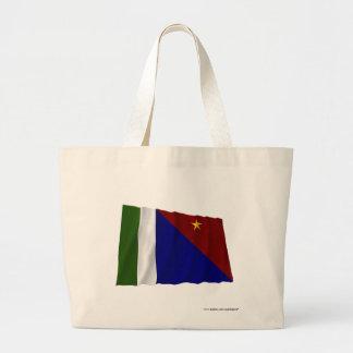 Milne Bay Province Waving Flag Bags