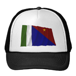 Milne Bay Province Waving Flag Trucker Hat