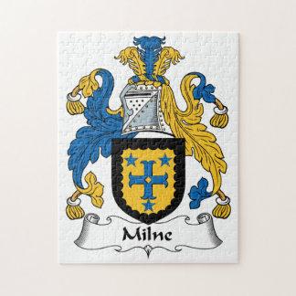 Milne Family Crest Puzzles