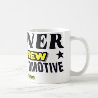 Milner Pit Crew Classic White Coffee Mug