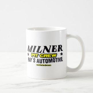 Milner Pit Crew Mugs