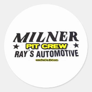 Milner Pit Crew Sticker