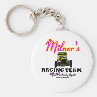 Milner Racing Team Cheer Squad Basic Round Button Keychain