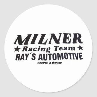 Milner T-shirts Sticker