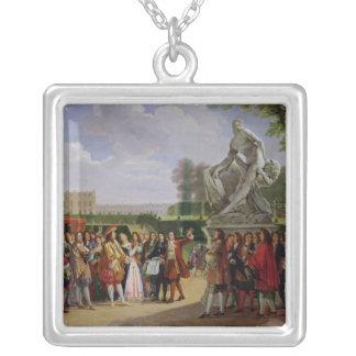 Milo de Louis XIV Puget de dedicación 'de Colgante Cuadrado