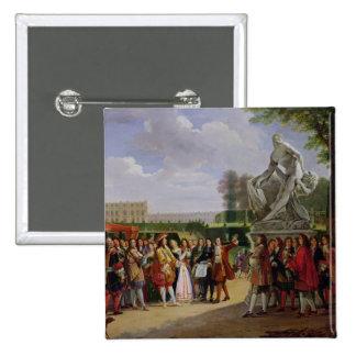 Milo de Louis XIV Puget de dedicación 'de Pin Cuadrada 5 Cm