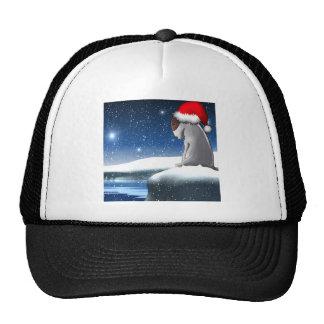 Milo del navidad (el perrito de bull terrier) gorra