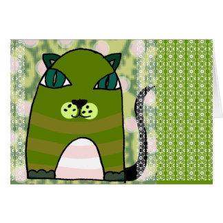 Milo 'Lace Design' Greeting Card