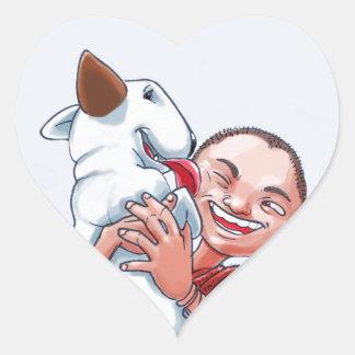 Milo & Ze Heart Sticker