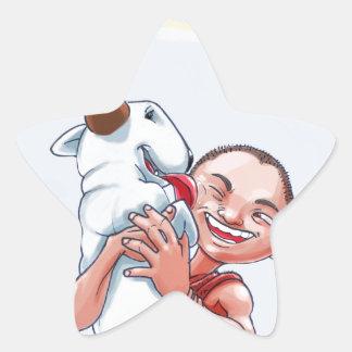 Milo & Ze Star Sticker