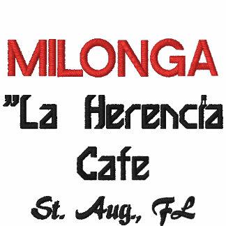 MILONGA café de Herencia del La St agosto FL Camiseta Polo
