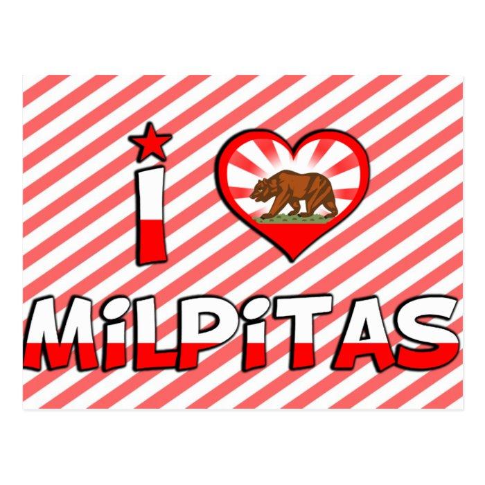 Milpitas, CA Postcard