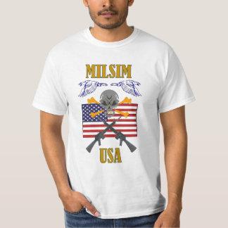 MILSIM USA TEE SHIRTS