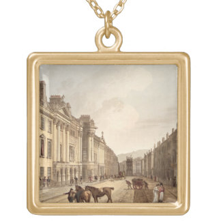 Milsom Street, from 'Bath Illustrated by a Series Necklaces