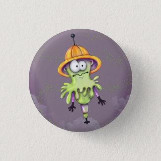 MILT ALIEN ROBOT  Button Small, 1¼ Inch