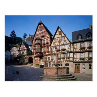 Miltenberg city, Germany Postcard