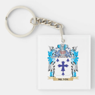 Milton Coat of Arms - Family Crest Acrylic Key Chains