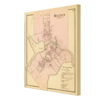 Milton Delaware Gallery Wrapped Canvas